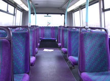 Travel On The Bus 5. This was taken on a 179 bus going to Ilford in London stock images
