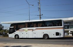 Travel Bus of Lanna Holiday Travel Transport Royalty Free Stock Images