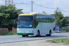 Travel bus of New Chiangmai Travel Royalty Free Stock Photo