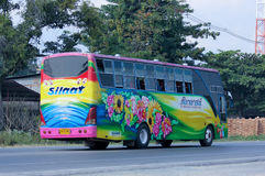 Travel bus of Silaat Transport Royalty Free Stock Images