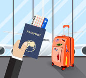 Travel, business trip concept. Royalty Free Stock Image