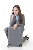 Travel business woman Stock Images