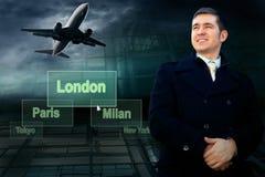 Travel businessman Stock Photos
