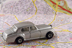 Travel by car. Going on holiday and use your car as transportation Royalty Free Stock Images