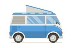 Travel Caravan Bus Stock Image