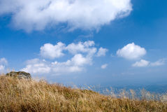 Travel in Carpathians. With top view royalty free stock images