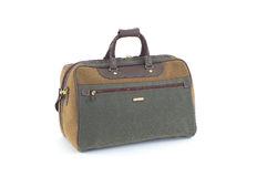 Travel case. Black travel case with towing handle Stock Images