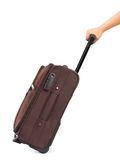 Travel Case And Hand Royalty Free Stock Photo