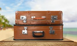 Travel cases Stock Photos