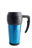 Travel coffee mug Stock Photography