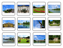 Travel collage - Salzburg City Royalty Free Stock Photography