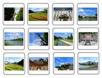 Travel collage - Salzburg City Stock Photo