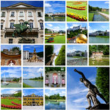 Travel collage - Salzburg City Royalty Free Stock Photos
