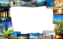 Travel collage. Trip to Europe, travel collage Royalty Free Stock Photos