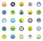 Travel Color Isolated Vector Icons set that can be easily modified or edit vector illustration