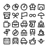 Travel Colored Vector Icons 11 Royalty Free Stock Image