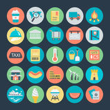 Travel Colored Vector Icons 4. Travelling, We are offering you a set of Travel icons. Useful and optimal for apps, websites. You can use it in your Travel Stock Image