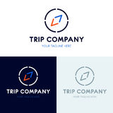 Travel-compass-logo copy Stock Photography