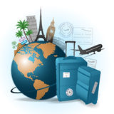 Travel concept Royalty Free Stock Photos