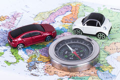Travel Concept with Compass Stock Images
