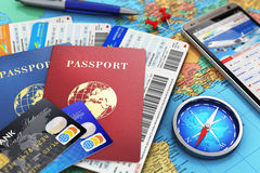 Travel concept Stock Image