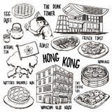 Travel concept of Hong Kong Royalty Free Stock Photo