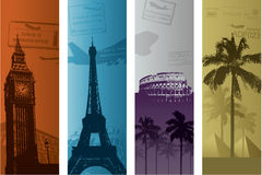 Travel concept illustration Stock Photography