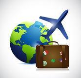 Travel concept illustration design Royalty Free Stock Image