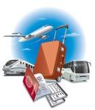 Travel concept illustration stock illustration