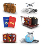 Travel concept isolated Royalty Free Stock Image