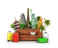 Travel concept. Royalty Free Stock Photography