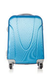 Travel concept with luggage suitacase Royalty Free Stock Photo