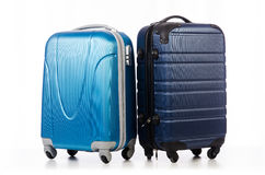 Travel concept with luggage suitacase Stock Image