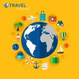 Travel concept Stock Images