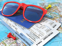 Travel concept. Stock Images