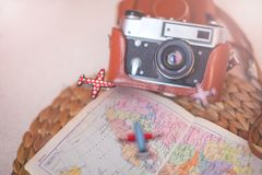 Plan For Travelling. Travel concept. Stock Photos