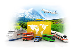 Travel concept. Royalty Free Stock Photo
