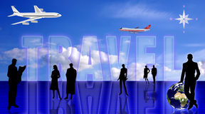 Travel conception Royalty Free Stock Photo