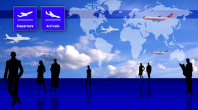 Travel conception Stock Image