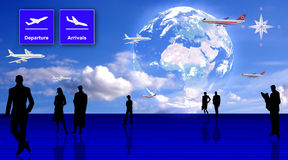 Travel conception Royalty Free Stock Image
