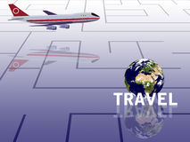 Travel conception Royalty Free Stock Images