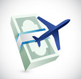 Travel cost illustration design Stock Photo