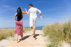 Travel couple Royalty Free Stock Photography