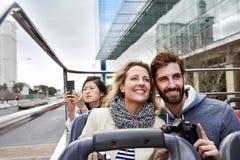 Travel couple stock image
