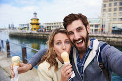 Travel couple Stock Photography