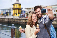 Travel couple stock images