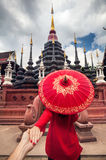 Travel couple in Thailand Stock Images
