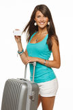 Travel Credit Card Royalty Free Stock Photography