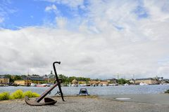 A travel day at Stockholm, Sweden Stock Photos