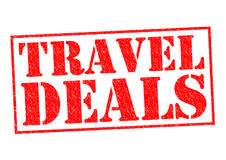 TRAVEL DEALS Royalty Free Stock Image